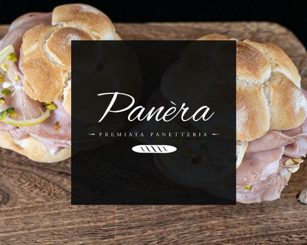 Panèra – premiata panetteria | Logo